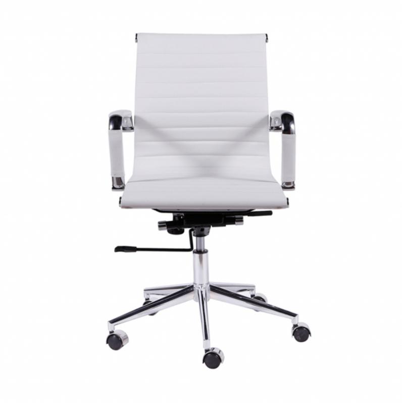 Cadeira Branca de Escritório Preço Aeroporto - Cadeira de Escritório Reclinável
