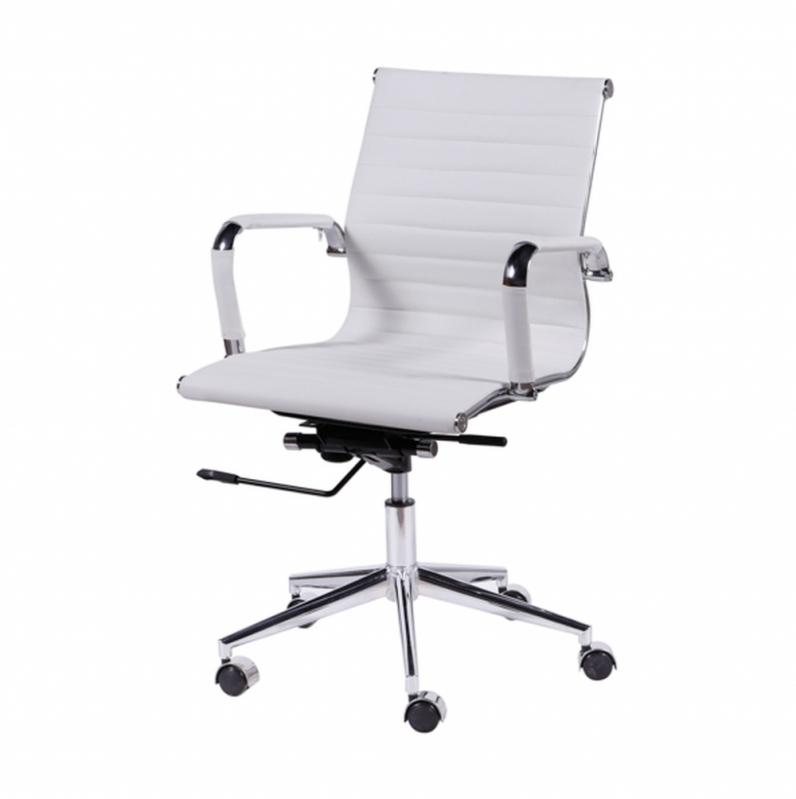 Cadeira Branca de Escritório Mendonça - Cadeira de Escritório Diretor