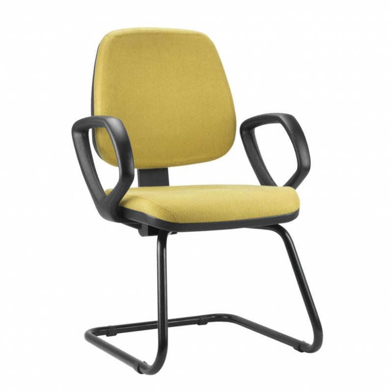 Cadeira Corporativa Fixa Santana - Cadeira Corporativa para Staff