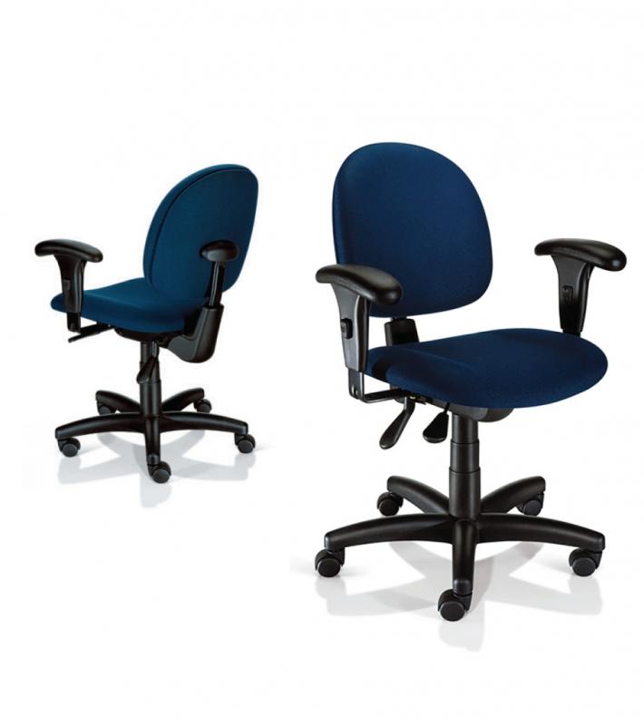 Cadeira de Escritório Secretária Orçamento Copacabana - Cadeira de Escritório Reclinável