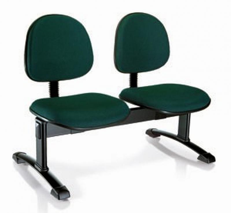 Cadeira de Espera para Escritório Del Castilho - Cadeira de Escritório Diretor