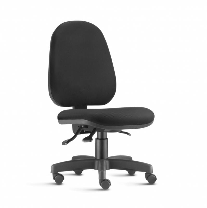 Cadeira de Rodinha Escritório Grajaú - Cadeira de Escritório Reclinável