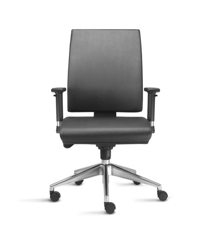 Cadeira Giratória para Escritório de Couro Preços Guararema - Cadeira para Escritório Giratória Tipo Executiva