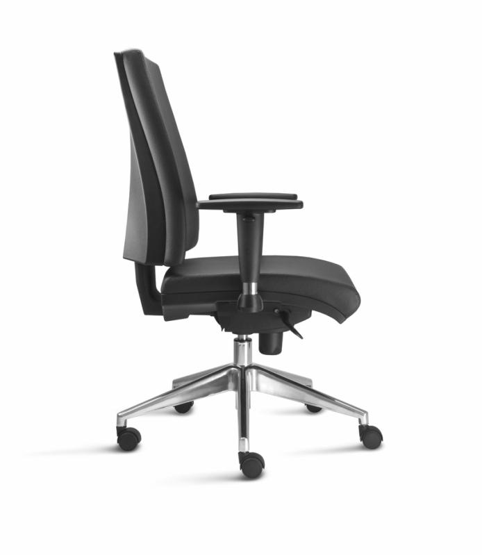 Cadeira para Escritório Base Giratória Perdizes - Cadeira para Escritório Giratória Tipo Executiva