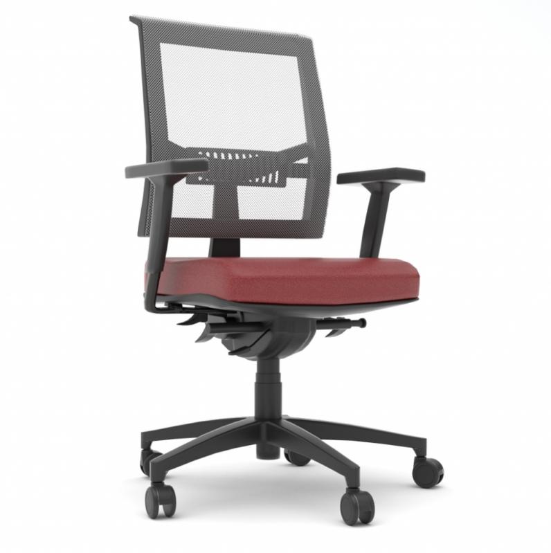 Cadeira para Escritório Giratória Tipo Executiva Preço Coelho Neto - Cadeira para Escritório Giratória Tipo Executiva