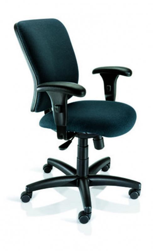 Cadeiras Corporativas Braço Regulavel ABCD - Cadeira Corporativa Operacional