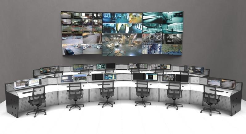 Fornecedor de Mobiliário Técnico para Centro de Monitoramento Liberdade - Mobiliário Técnico para Centro de Controle