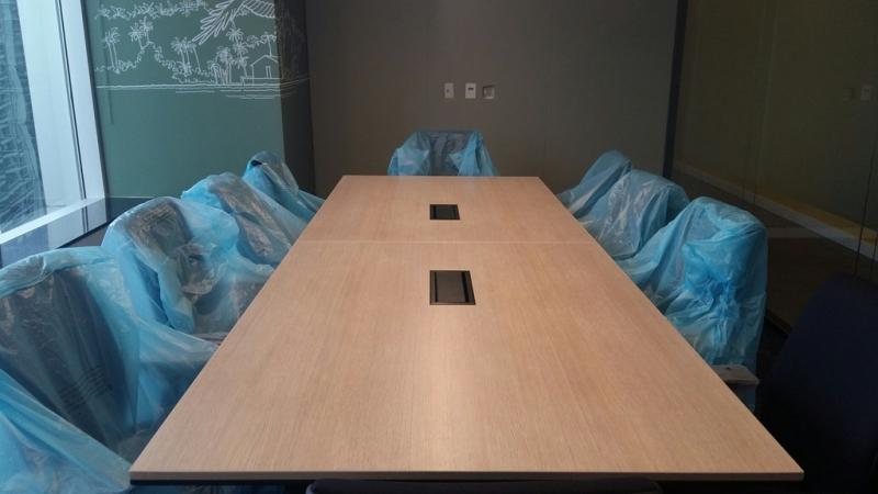Mesa de Escritório para Sala de Reunião Valor Inhaúma - Mesa Grande para Sala de Reunião
