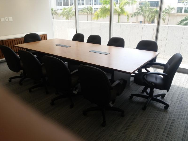 Mesa para Sala Reunião Alphaville Industrial - Mesa Grande para Sala de Reunião
