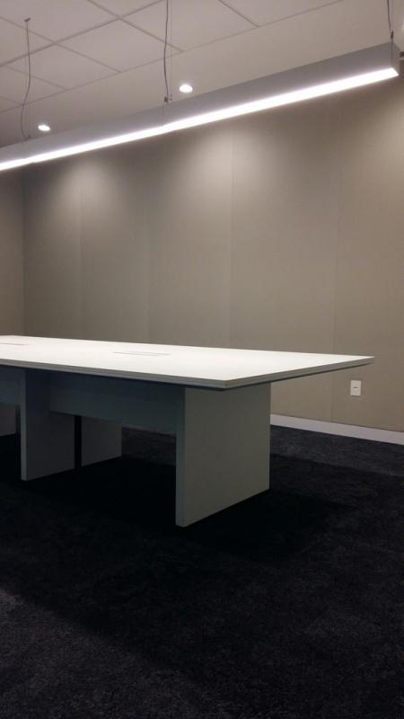 Mesa Sala de Reunião Preço Centro - Sala de Reunião com Mesa Redonda