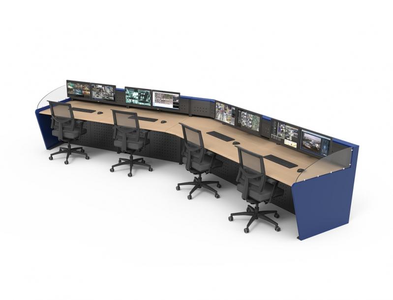 Mobiliário Técnico Customizado Barata Leblon - Mobiliário Técnico para Sala de Monitoramento