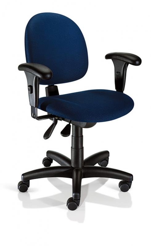 Onde Vende Cadeira para Escritório Base Giratória Parada de Lucas - Cadeira para Escritório Giratória Tipo Executiva