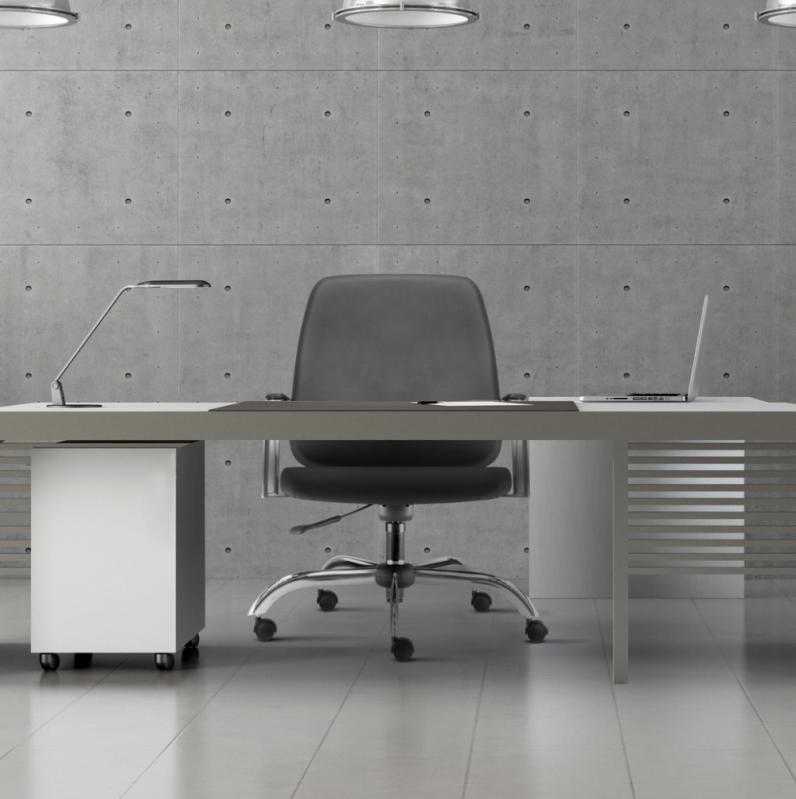 Onde Vende Cadeira para Escritório Giratória Tipo Executiva Perdizes - Cadeira para Escritório Giratória Tipo Executiva