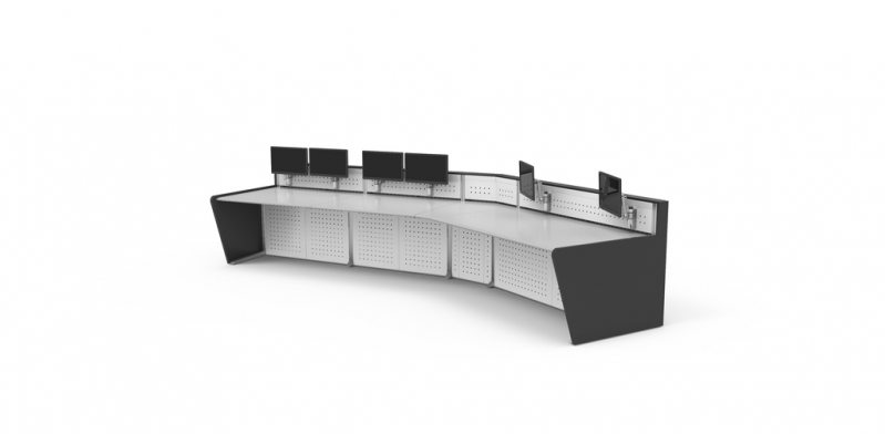 Preços de Mobiliário Técnico para Sala de Monitoramento Gericinó - Mobiliário Técnico com Suporte de Monitor