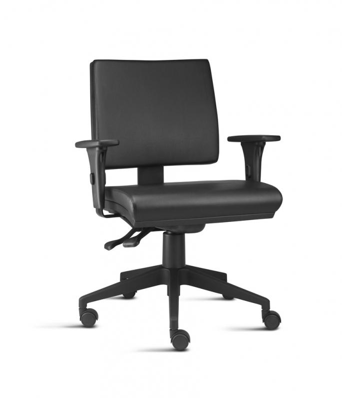 Quanto Custa Cadeira de Escritório Couro Bela Vista - Cadeira de Escritório Diretor