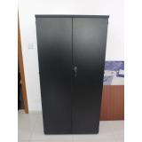 armário para escritório preto contato Salto