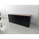 armário para escritório preto Vila Guilherme