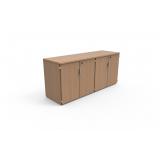 armário pequeno para escritório Leme
