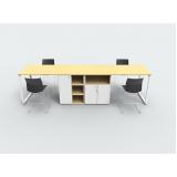 bancada escritório de madeira