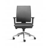 cadeira de escritório couro orçamento Poá