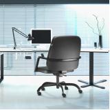 cadeira de escritório que suporta 150kg