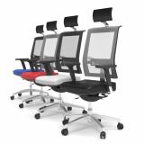 cadeira de escritório presidente couro preços Leme