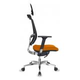 cadeira de escritório presidente em tecido preço Chácara Inglesa