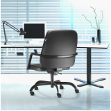 cadeira de escritório presidente luxo Anchieta
