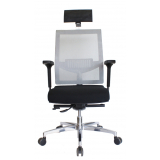 cadeira de escritório presidente preta preço Jardim São Paulo