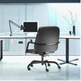 cadeira de escritório que suporta 150kg Santa Efigênia