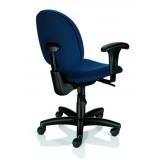 cadeira escritório giratória com braço valor Leme