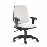 cadeira escritório giratória com braço Limeira