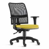 cadeira estofada giratória braço preço República