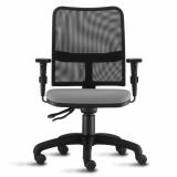 cadeira estofada giratória Penha Circular