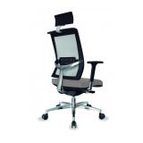 cadeira executiva giratória com braço Bela Vista