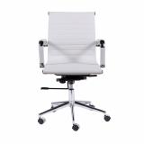 cadeira giratória branca com braço preço ABCD