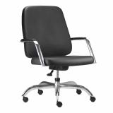 cadeira executiva giratória com braço