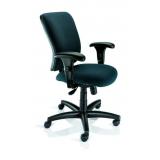 cadeira giratória com braço regulável