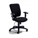 cadeira para escritório giratória com braço