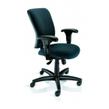 cadeira giratória com braço regulável preço Vila Mazzei