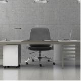 cadeira giratória executiva de escritório
