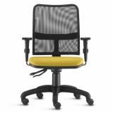 cadeira para escritório giratória transparente