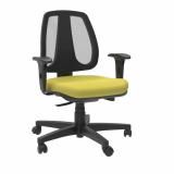 cadeira para escritório giratória com braço preço Santa Isabel