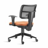 cadeira para escritório giratória transparente preços Duque de Caxias