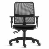 cadeira para escritorios com rodizio de silicone Jardim Novo Mundo