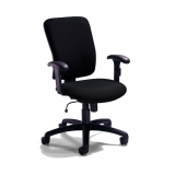 comprar cadeira para escritório giratória com braço Pari