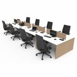 comprar mesa de escritório de madeira Parque Anhembi