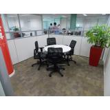 comprar sala de reunião com mesa redonda Recife