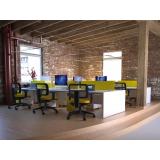 empresas de coworking móveis escritório Rio Pequeno