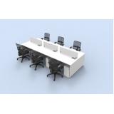 fabricante de mesa plataforma com divisor Parque São Rafael